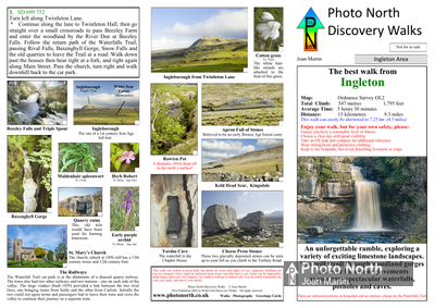 Ingleton walk download - Two page pdf file