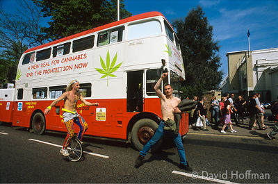 Cannabis March 1 Festival at Brockwell Park, London.