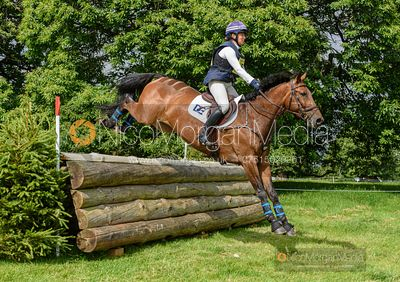 Kate Rocher-Smith and DROMBANE DASSETT - Upton House Horse Trials 2019.