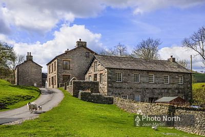 HOWGILL 05A - The hamlet of Howgill