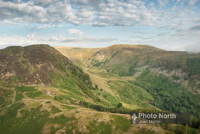 PATTERDALE 04A - Aerial view of Grisedale
