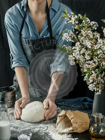 Process of making homemade bread dough