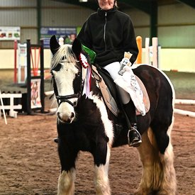 05/01/2020 - Class 3 - Unaffiliated showjumping - Brook Farm training centre