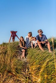 Family at Blokhus, Denmark 4
