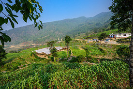 Gaira, District Dhading in Nepal.