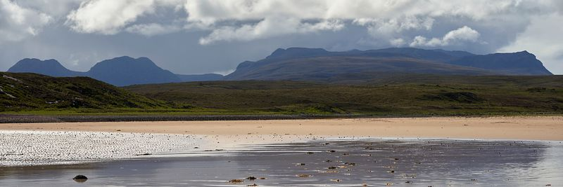 Image - Inverpolly and Coigach from Achnahaird, Wester Ross, Highland, Scotland