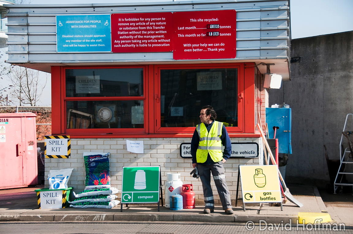 Recycling and waste disposal centre, Yabsley St, Tower Hamlets