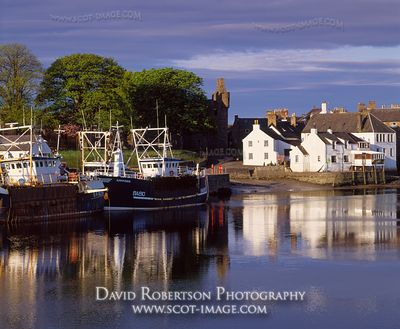 Image - Kirkcudbright Harbour, Dumfries and Galloway, Scotland