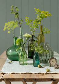 Green Flowers by Bauer
