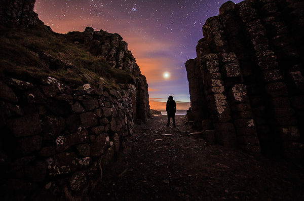 Enjoying Venus corona above the Giant´s Causeway – Northen Ireland
