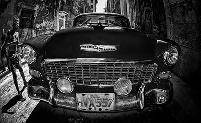 red-car-boy_bw