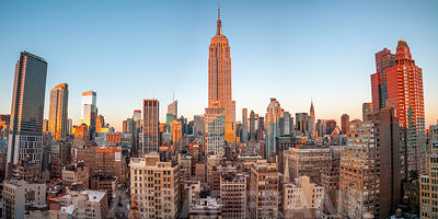 Empire State Building with Manhattan skyline - New York City