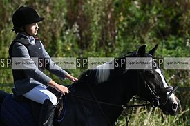 Stapleford Abbotts. United Kingdom. 20 September 2020. Unaffiliated showjumping. MANDATORY Credit Garry Bowden/Sport in Pictu...