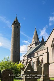 Image - Brechin Cathedral and Round Tower, Brechin, Angus, Scotland