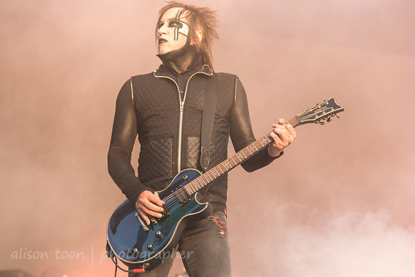 Paul Wiley, guitar, Marilyn Manson