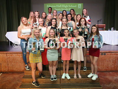 Ribston Hall High School. Sports Awards. 3rd July 2019.
