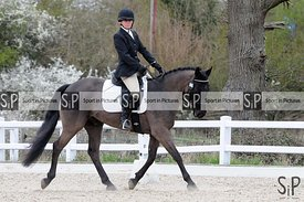 Stapleford Abbotts. United Kingdom. 03 April 2021. Combined training - Dressage. MANDATORY Credit Ellen Jameson/Sport in Pict...