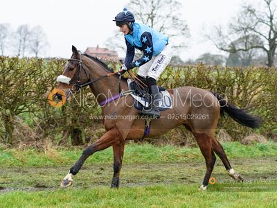 Dale Peters and MOUNTAIN ASSAULT - Race 6 - Open Maiden - The Midlands Area Club at Thorpe Lodge 26/1