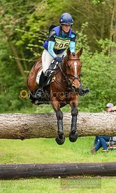 Jodie Amos and WISE CRACK, Fairfax & Favor Rockingham Horse Trials 2019.