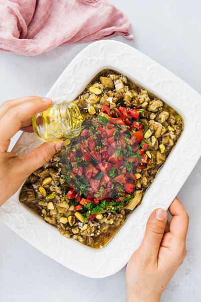 Turkish Eggplant Salad