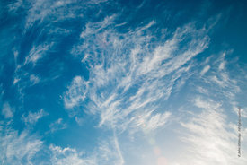 #69997,  Altocumulus clouds over southern England in November.