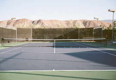 Tennis Courts by Christian Werner