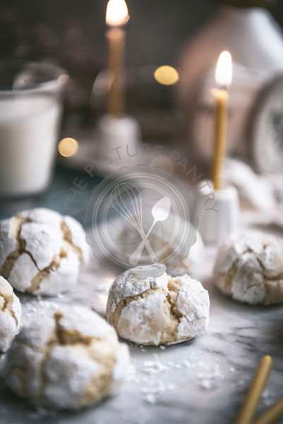 Lemon Crinkle Cookies made for Christmas