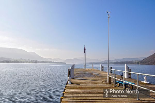 POOLEY BRIDGE 10A - Ullswater from the pier