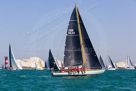 Whooper, GBR363R, Laurent Giles one-off, Round The Island Race 2019, 20190629581