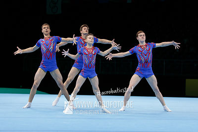 AG 13-19 Men's Group Russia - Balance