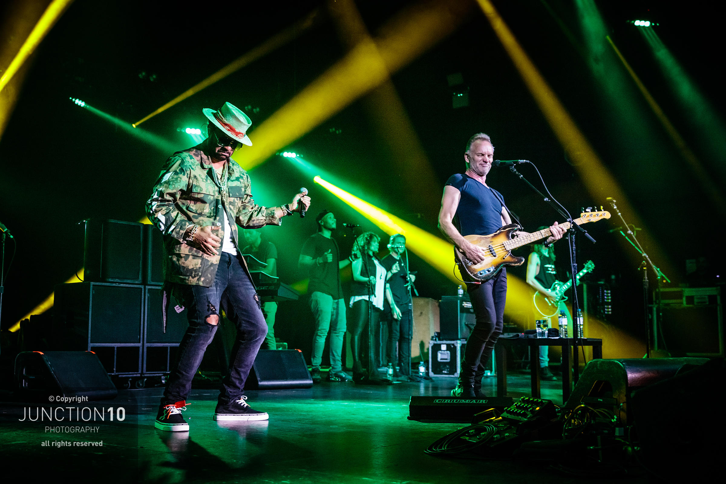 Sting and Shaggy concert at O2 Academy, Birmingham, United Kingdom - 24 May 2019