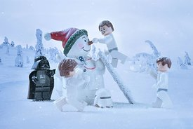 Stormtroopers in the Snow