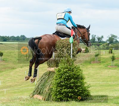 Izzy Taylor and HARTACKER - Upton House Horse Trials 2019.