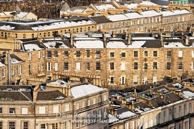 Image - Winter rooftop scene in Edinburgh, Scotland