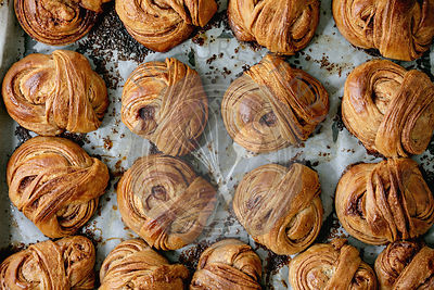 Swedish cinnamon sweet buns