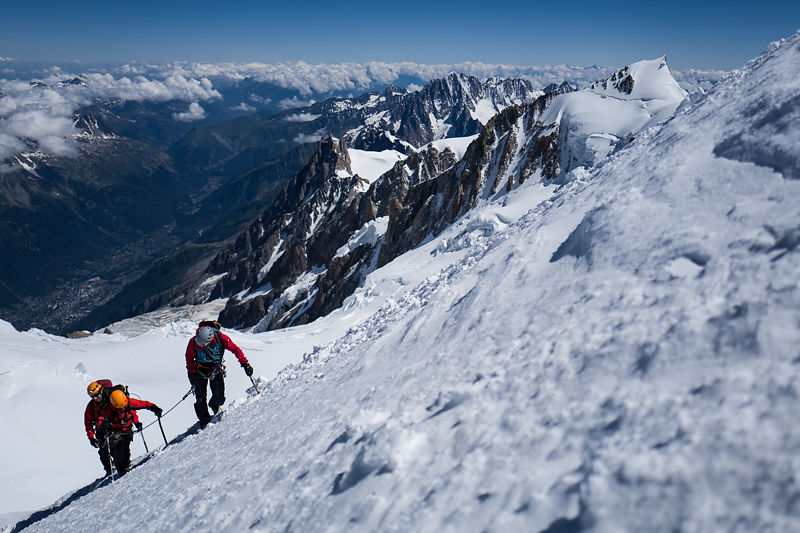 Ascension du Mont Blanc: stage d'alpinisme à Chamonix Grand Paradis