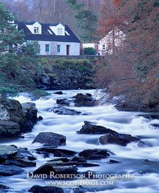 Image - Falls of Dochart, Killin, Scotland
