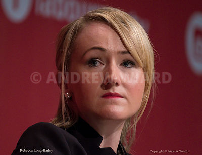 England, UK . 26.9.2017. Brighton. Labour Party Conference Tuesday. Rebecca Long-Bailey..