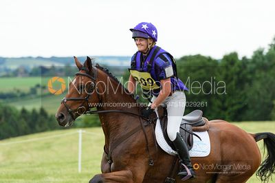 Ashley Edmond and MAURO DONALDSON - Upton House Horse Trials 2019.