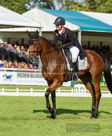 Gemma Tattersall and SANTIAGO BAY - Dressage - Land Rover Burghley Horse Trials 2019