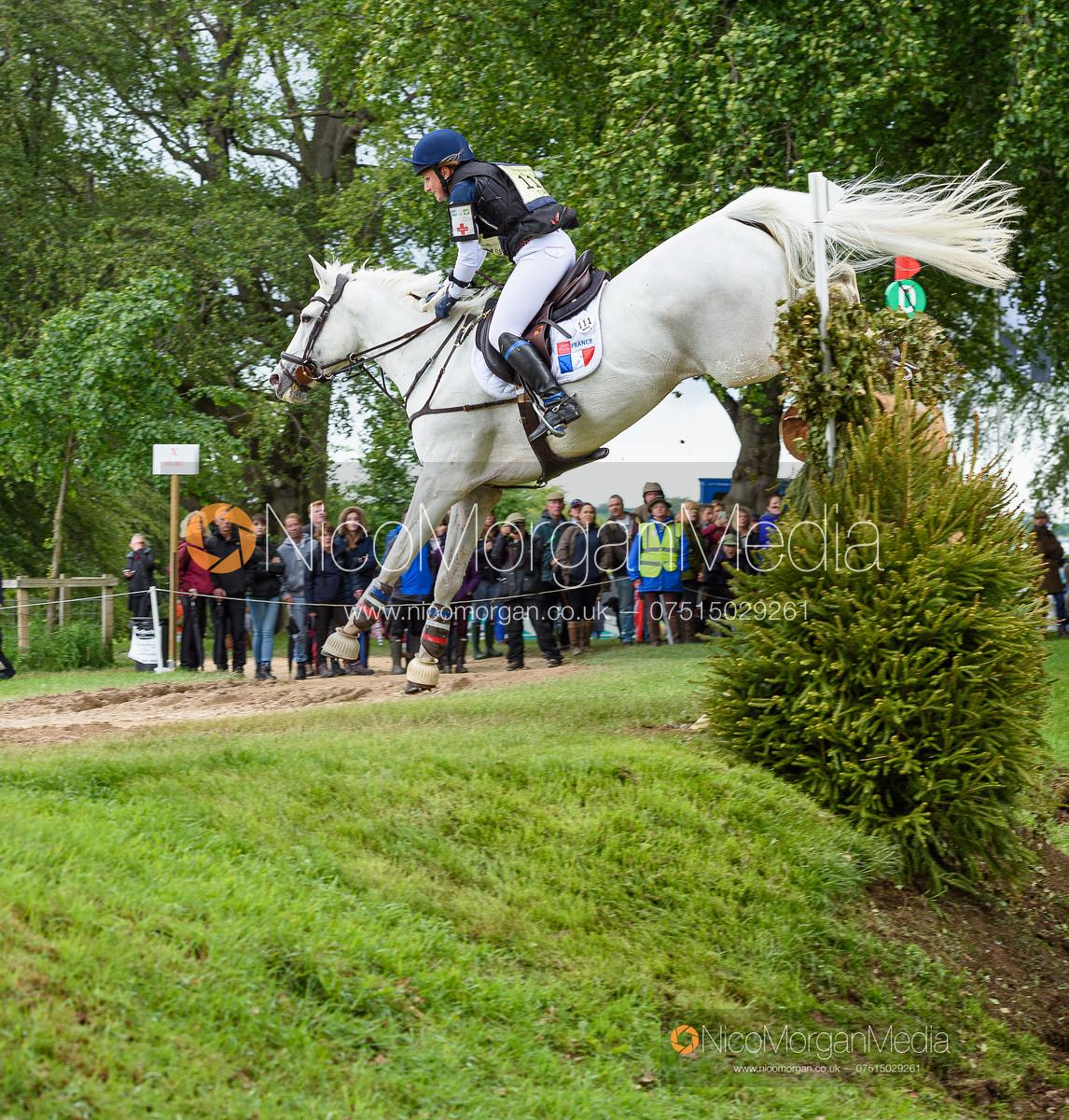 Loicia Tirel and RAYBANN DU CASTERAS, Equitrek Bramham Horse Trials 2019