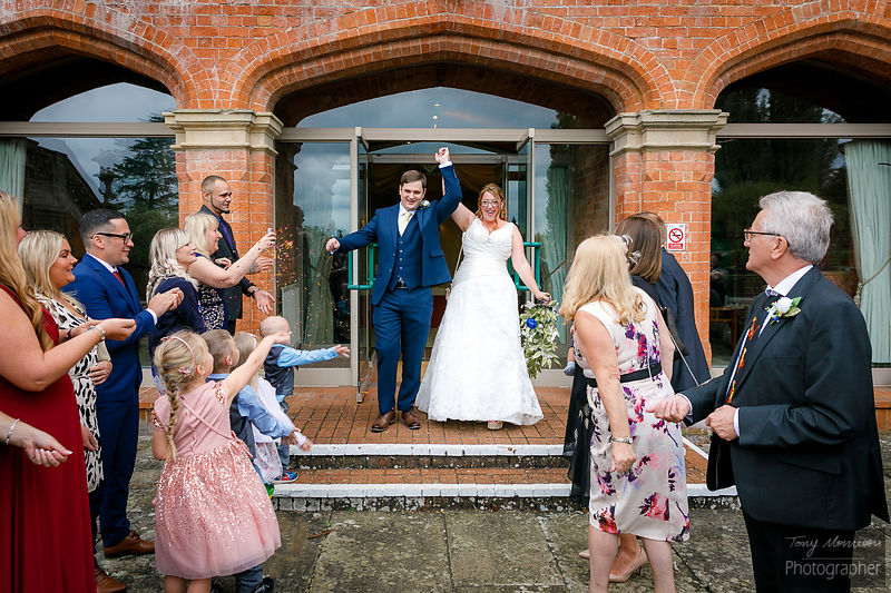Wedding at the Welcombe Hotel, Stratford-Upon-Avon, Warwickshire, UK