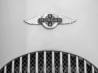 Vintage Morgan car logo
