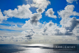 Ocean impression with clouds - Europe, Ireland, Donegal, The Rosses, Inishfree Bay, Carrickfinn Beach - digital