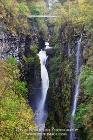Image - Corrieshalloch Gorge, Wester Ross, Highland, Scotland.  Autumn