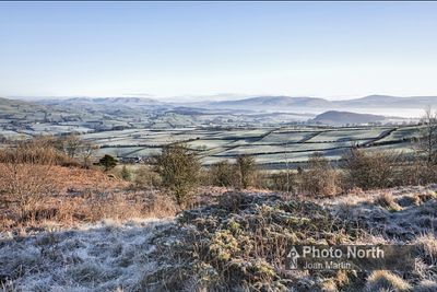 HUTTON ROOF 25A - The Lune Valley from Hutton Roof Crags