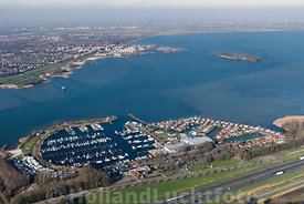 Ermelo - Luchtfoto - Jachthaven