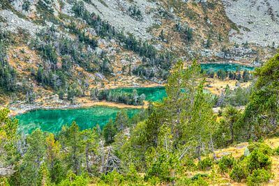High Altitude Green Lakes