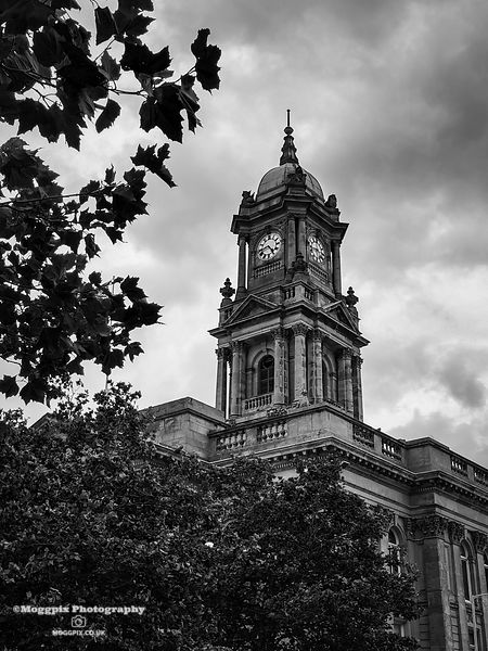Birkenhead Town Hall Clock Tower
