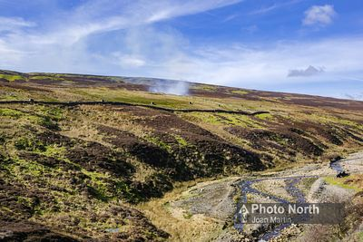 REETH 23A - Grouse butts and heather burning